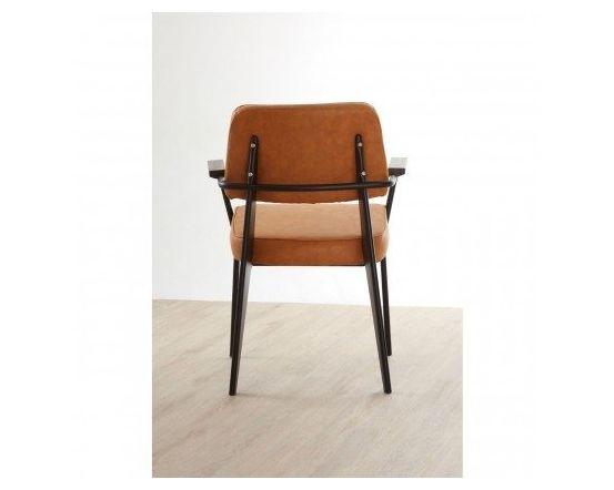 Dalston Vintage Camel Armchair
