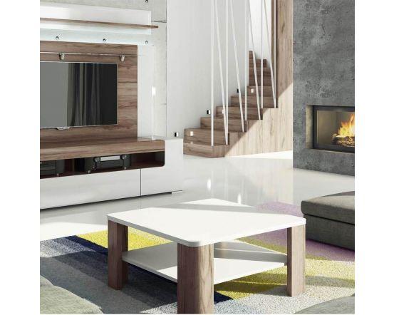 Designer Style White Coffee Table