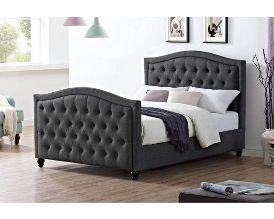 Delilah Linen Fabric Bed Frame