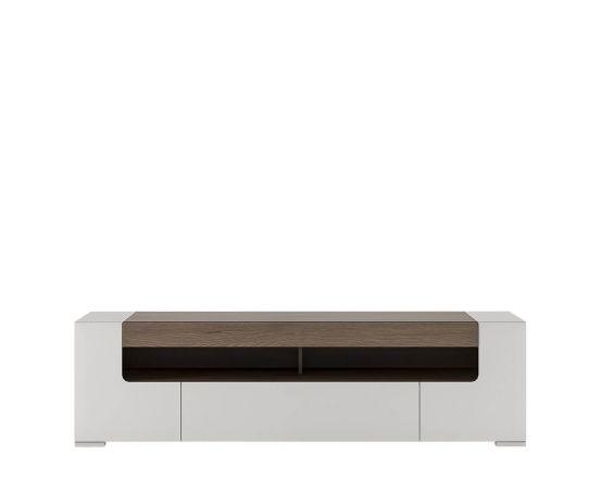 Designer Style White Wide TV Unit