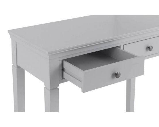 Edelmar Pine Grey 2 Drawer Dressing Table