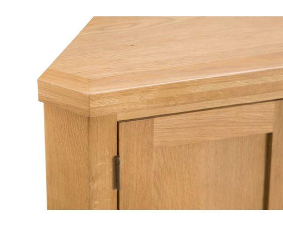 Eden Oak Corner Hallway Cabinet