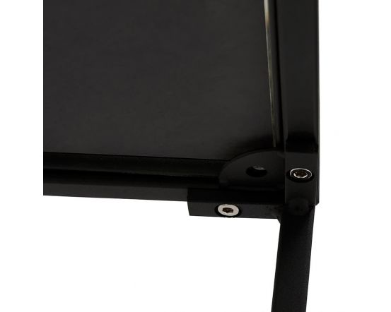 Mikael Black Glass Top Coffee Table