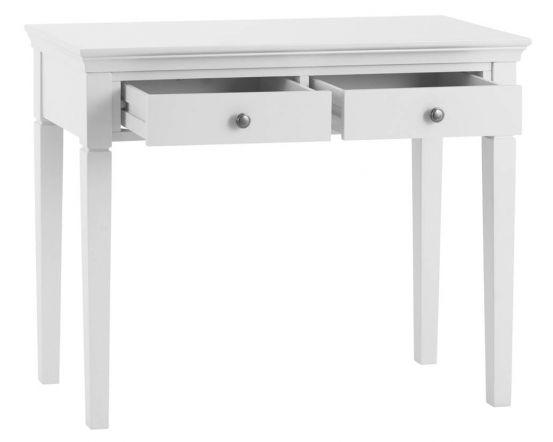 Edwina Pine White Dressing Table