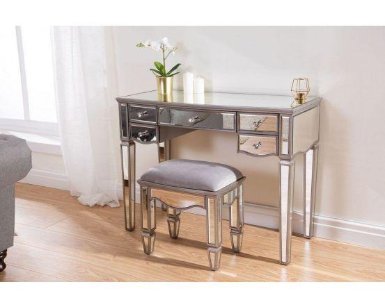 Elayna Mirrored Dressing Table