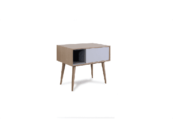 Enkel Oak Bedside Table