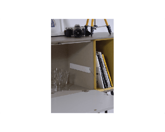 Enkel Oak Console Table