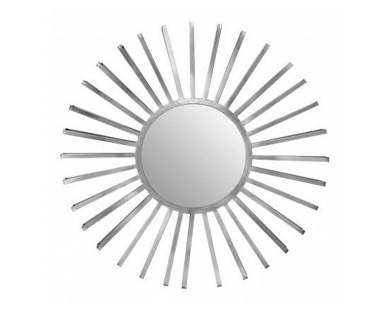 Fara Silver Sun Wall Mirror