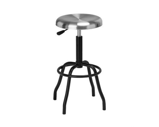 Factory Style Bar Stool - Black
