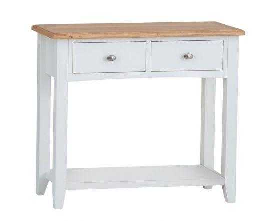Gaetan Oak Console Table