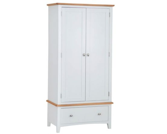 Gaetan Oak Double Wardrobe