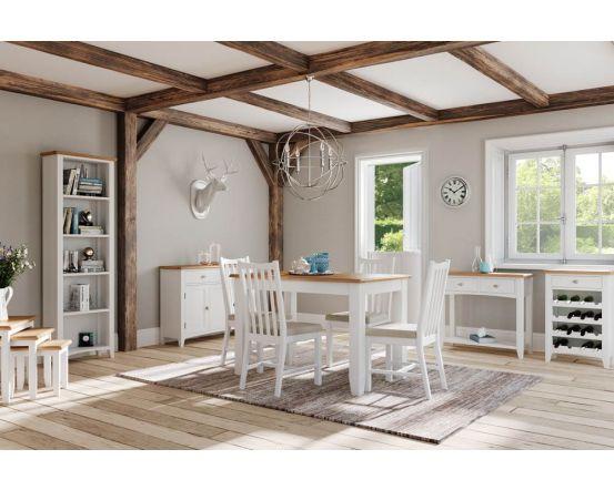 Gaetan Oak Nest of 3 Tables