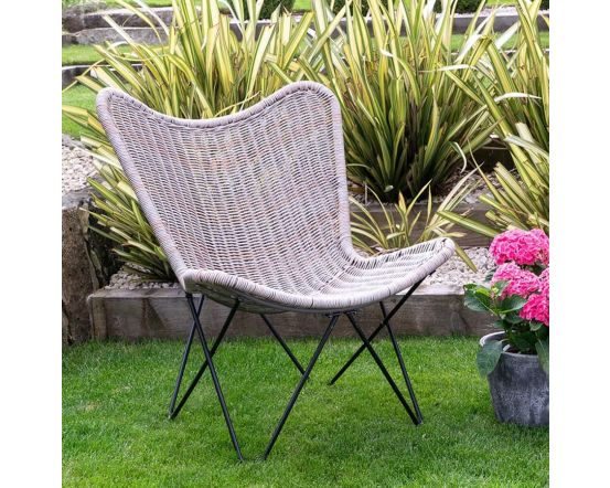 Grayling Outdoor Rattan Effect Chair