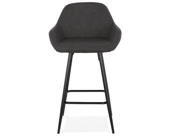 Gustav Grey Large Bar Armchair