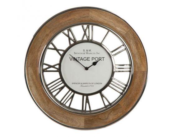 Hampshire Mango Wood Wall Clock