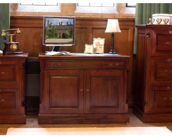 Hand Crafted Hidden Home Office