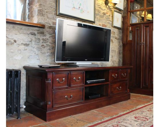Hand Crafted Widescreen Television Cabinet