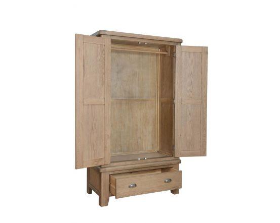 Hodson 2 Door 1 Drawer Wardrobe