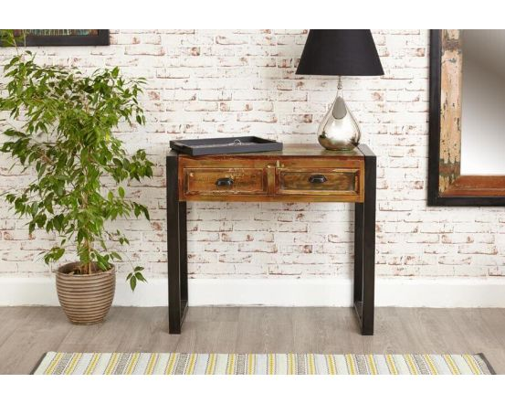 Industrial Reclaimed Console Table