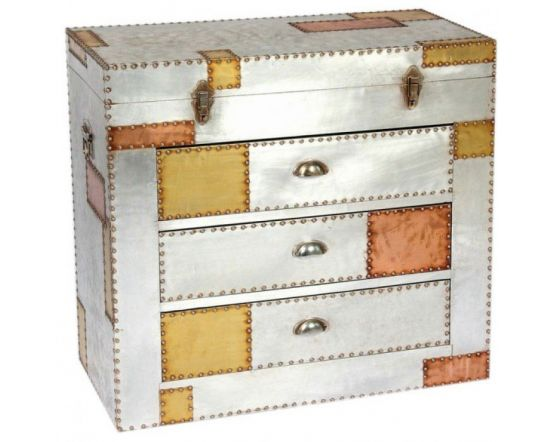Russell Industrial Aluminium and Copper Chest