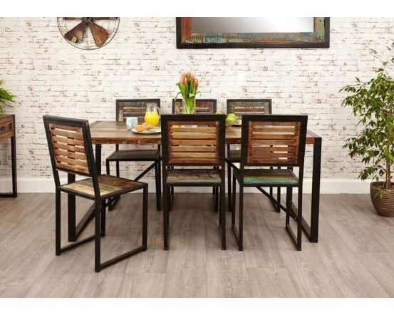 Industrial Reclaimed Dining Table