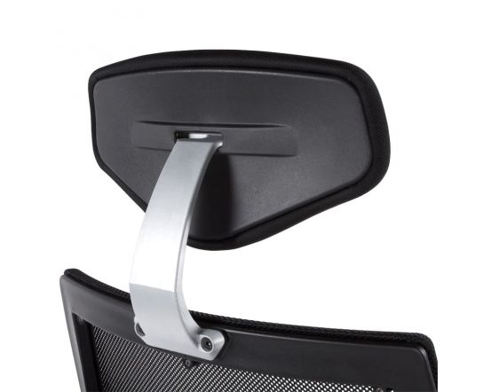Isak Black Fabric Ergonomic Office Chair