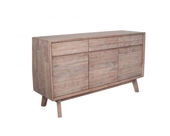 Kalm Sand Wash 3 Drawer Sideboard