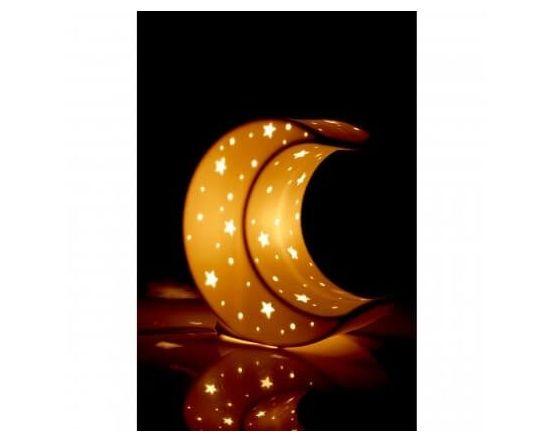 Kidzone Moon Table Lamp