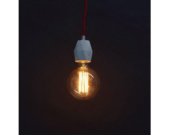 Leonard Concrete Effect Ceiling Light