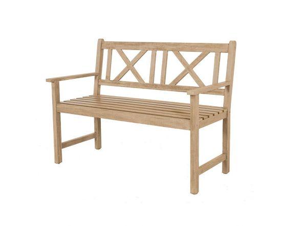 Light Teak Acacia Wood Bench