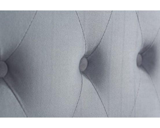 Marcus King Size Grey Velvet Effect Bed Frame