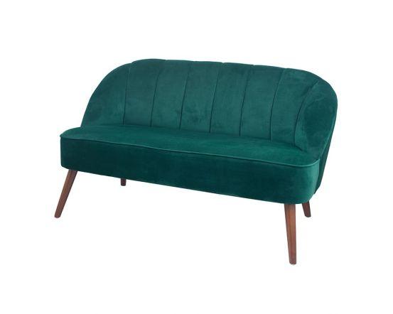 Mateo Forest Green Velvet Sofa