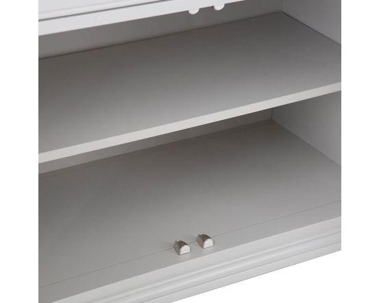 Mendes Soft Grey Large Sideboard