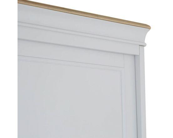 Mendes Soft Grey Slide Door Wardrobe