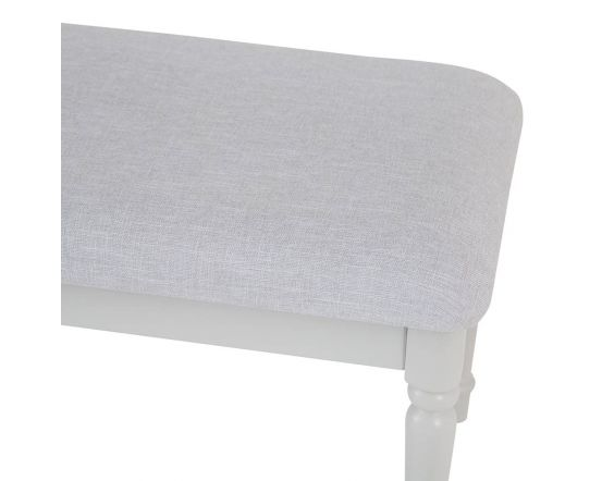 Mendes Soft Grey Stool