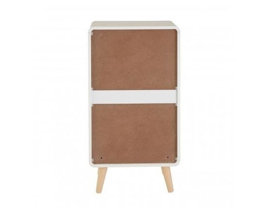 Milo 4 Drawer Pastel Tallboy Cabinet