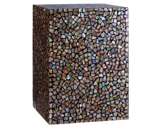 Mosaic Square Side Table