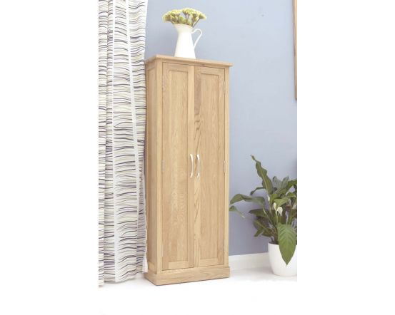 Modern Light Oak DVD Storage Cupboard