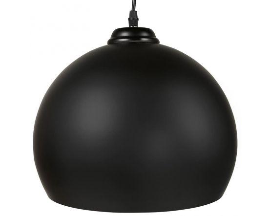 Naslund Black Metal Round Ceiling Light