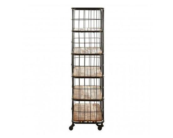 Nest Mango Wood 5 Tier Shelf Rack