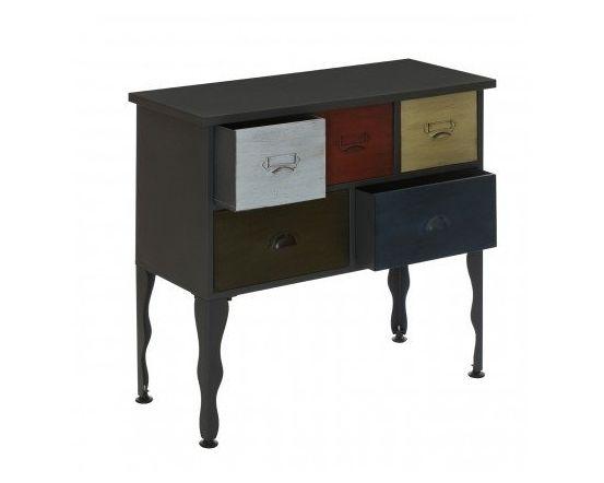 New York 5 Drawer Loft Cabinet