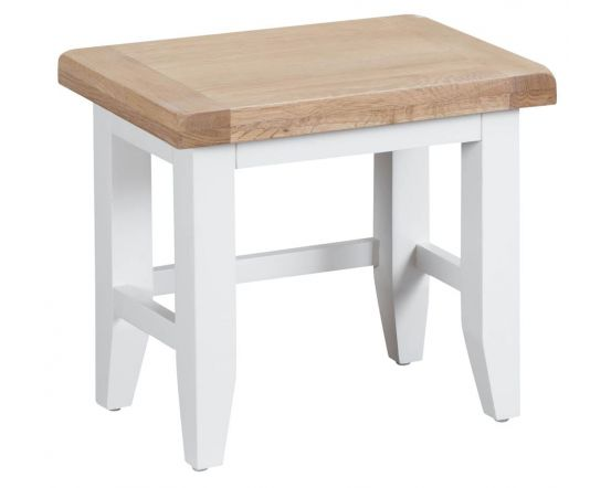 Newholme White Nest Of 3 Tables