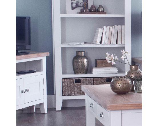Newholme White Corner TV Unit