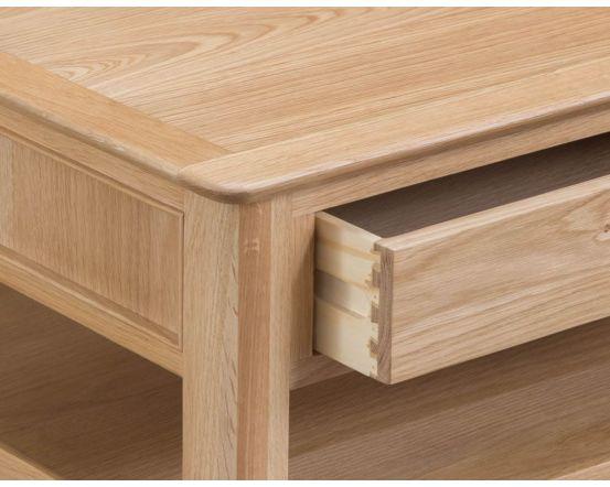 Noah Oak 2 Drawer Coffee Table