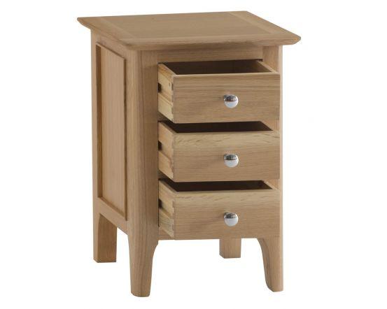 Noah Oak Bedside Cabinet