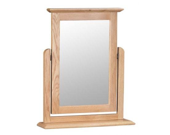 Noah Oak Trinket Mirror