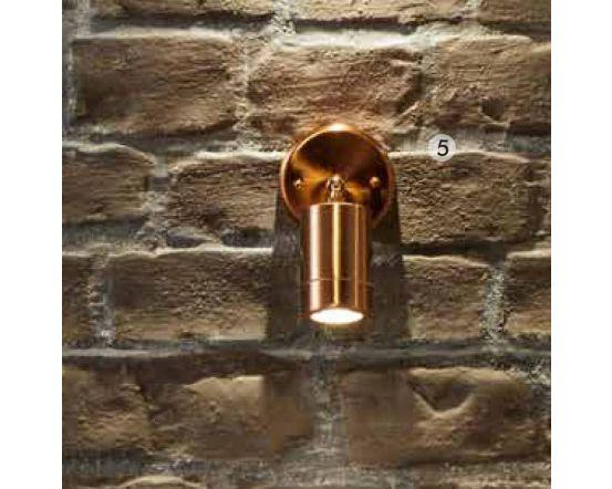 Outdoor Copper Adjustable Directional Spotlight