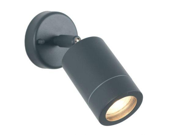 Outdoor Dark Grey Adjustable Directional Spotlight