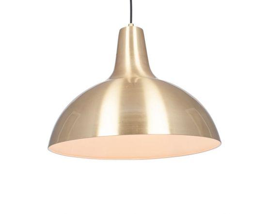 Oversized Brass Metal Pendant