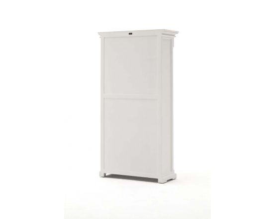 Provence White Mahogany Bookcase
